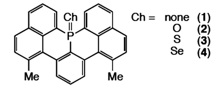novel planar triarylphosphines