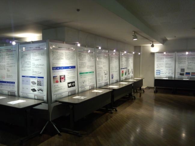 本学のポスター展示