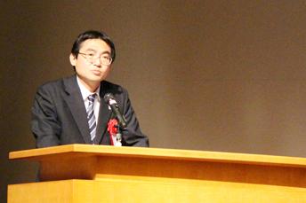 来賓ご挨拶:坂本修一 文部科学省 産業連携・地域支援課長