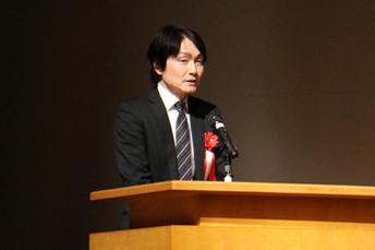 来賓ご挨拶:谷 明人 経済産業省大臣官房審議官