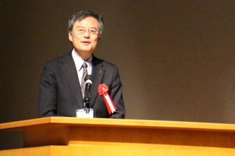 来賓ご挨拶:北村康二 京都市産業観光局新産業振興室長
